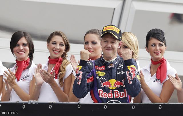 Vettel 32. győzelmét ünnepelhette Monzában