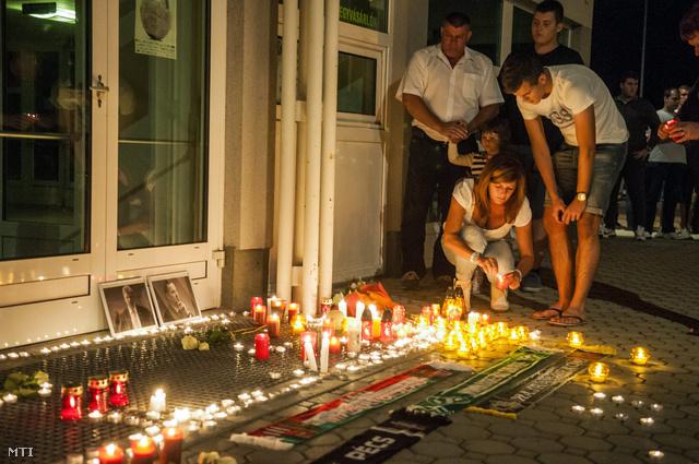 Tapodi Pétert és Fűzy Ákost gyászolják Győrben