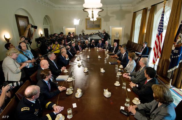 Obama ismerteti álláspontját a szíriai beavatkozásról a kongresszus tagjaival