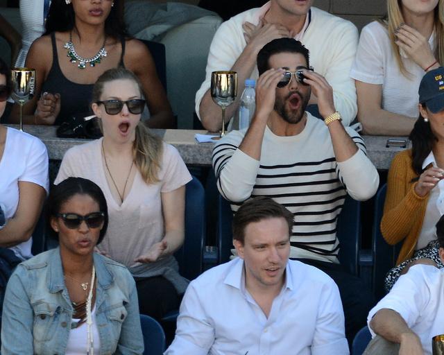 És jött a döbbenet, biztos Serena Williams ütött egy ászt.