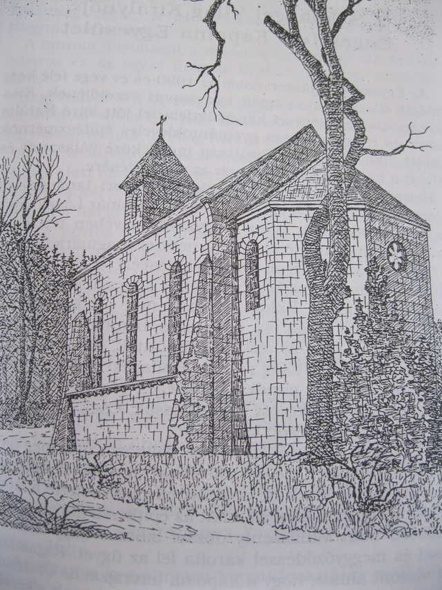 Az engesztelő kápolna rajza - Forrás: Natália nővér honlapja