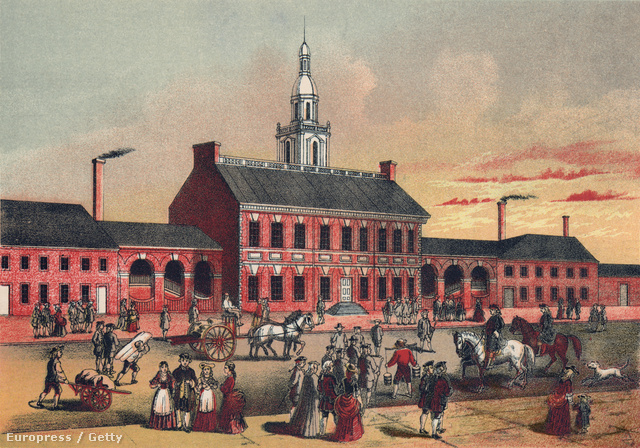 A philadelphiai Independence Hall