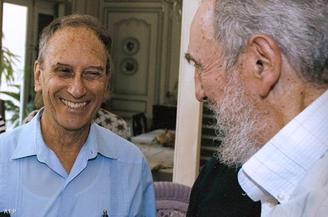 Saul Landau és Fidel Castro