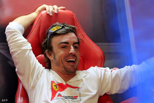 Alonso lazít az idei monzai futam előtt