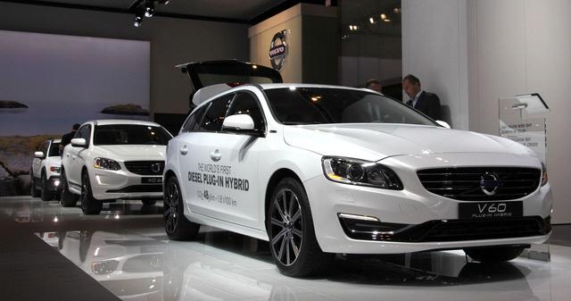 Alakul a Volvo hibrid-flottája
