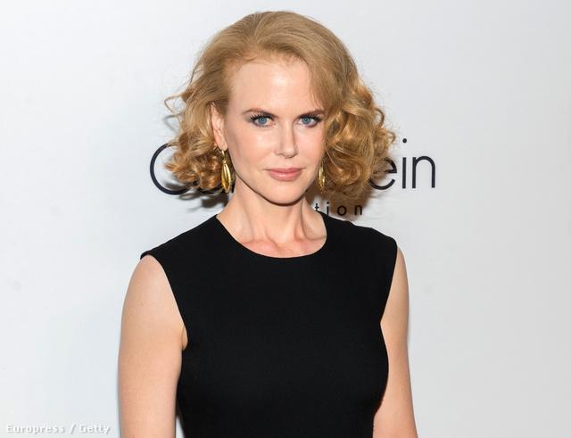 Nicole Kidman a Calvin Klein divatbemutatóját követő eseményen