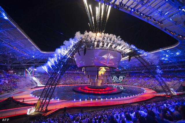 A 2013-as orosz Universiade megnyitója