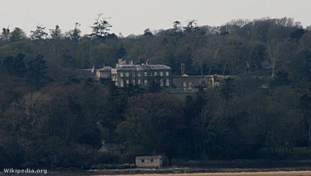 Ezen a birtokon található a ház