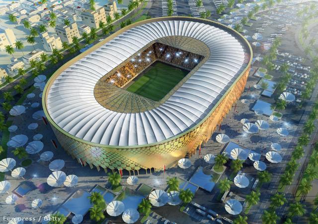 A Katari Egyetemi Stadion látványterve