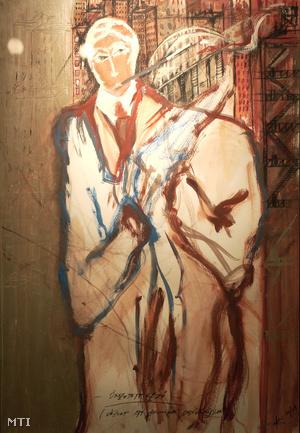 Alföldi Róbert, az Összetett kezű című alkotása