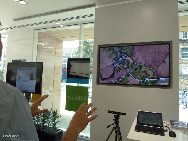 Kézmozdulatokkal irányítani a Kinect segítségével