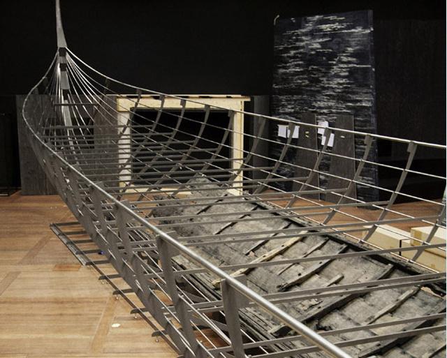 A 37 méteres hajóroncs jelenleg Dániában látható