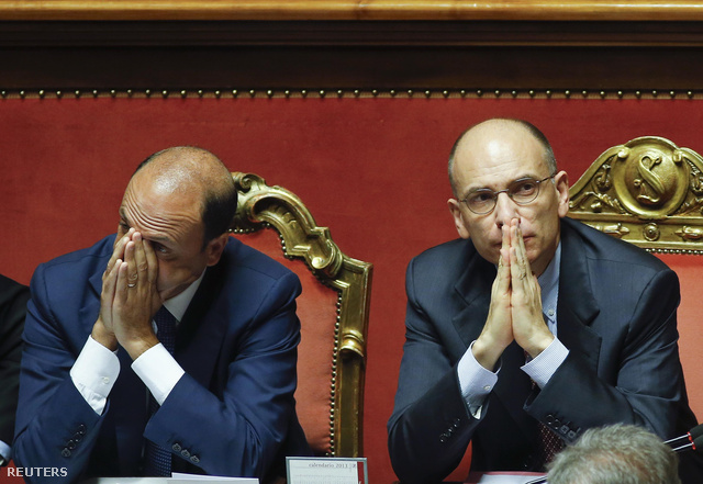 Angelino Alfano és Enrico Letta is beadta lemondását