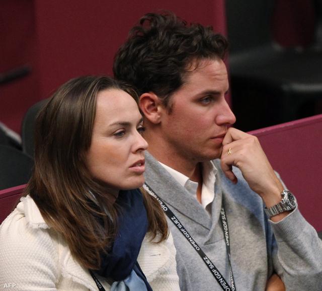 Martina Hingis és Thibault Hutin