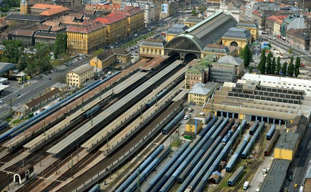 2691 Budapesten a Keleti Palyaudvar