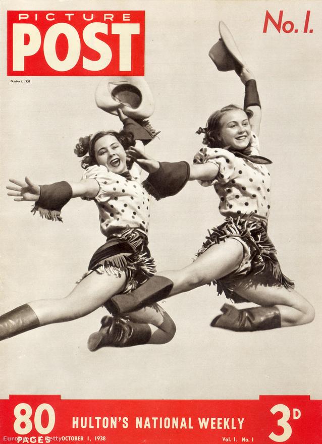 1938. október 1-én jelent meg a Picture Post első lapszáma. A  vidám címlapon két cowgirl showtáncol.