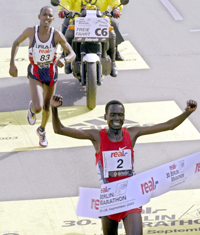 Paul Tergat 2003-ban futott világcsúcsot