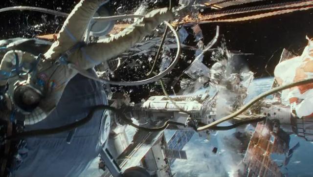 Egy jelenet a Gravity c. filmből