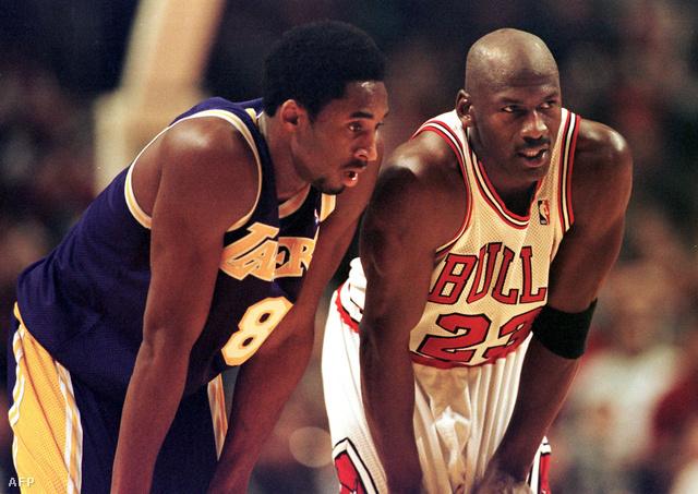 Bryant és Jordan egymás ellen az 1997-es meccsen