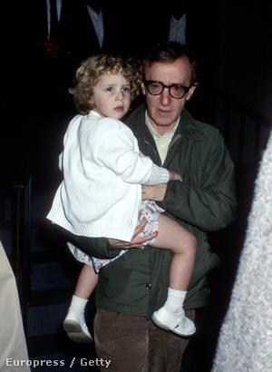 Woody Allen és Dylan, 1989-ben