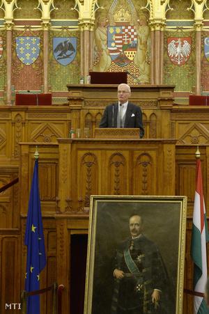 Gróf Bethlen István a néhai magyar miniszterelnök testvérének unokája