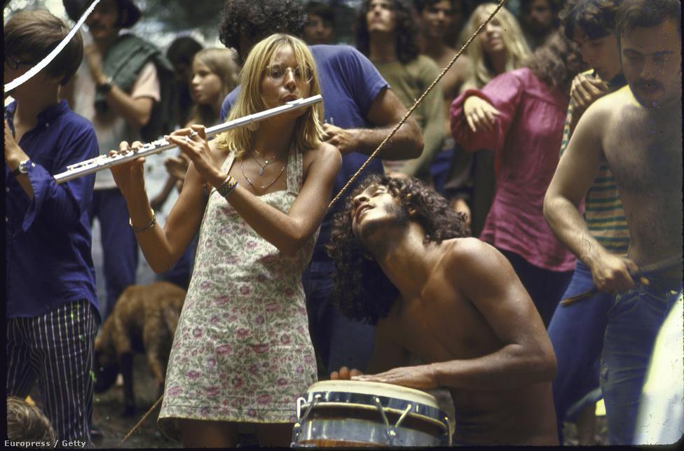 Woodstock , 1969.