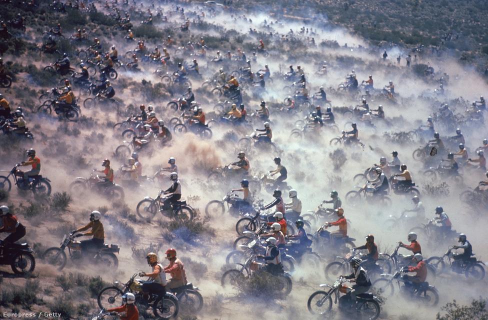 Mint 400 Motocross verseny Nevadában, 1971.