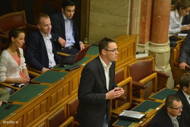 Karácsony Gergely mai felszólalása a Parlamentben