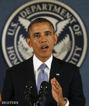 Barack Obama a FEMA központjában tartott sajtótájékoztatón