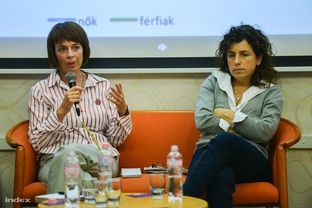 Schleicher Nóra és Farkas Katalin