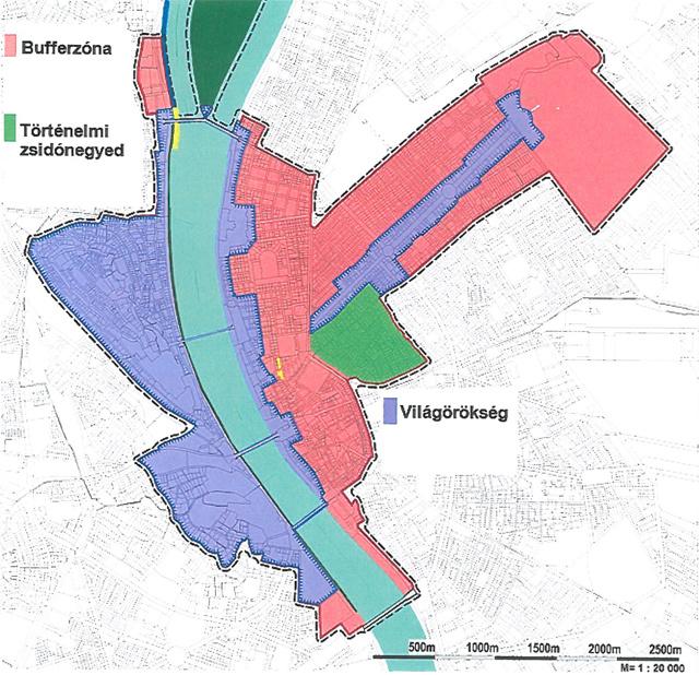 Az alaptérkép, ami még kiegészülhet - Forrás: Főpolgármesteri hivatal
