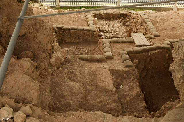 Régészeti ásatás Izraelben