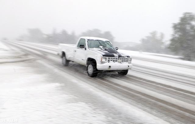Az utak állapota Dél-Dakotában