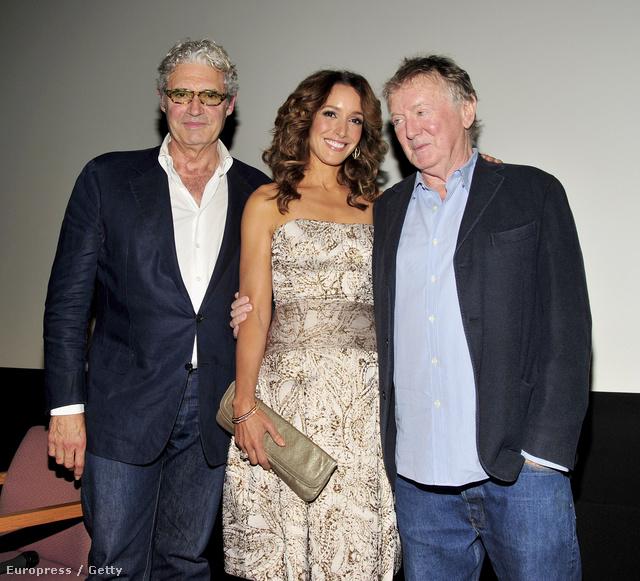 Adrian Lyne rendező, Jennifer Beals és Michael Nouri 2013-ban