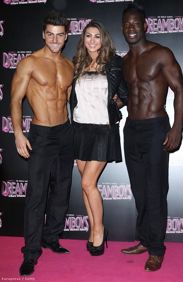 Luisa Zissman, a The Apprentice című reality egyik versenyzője két álomfiú között