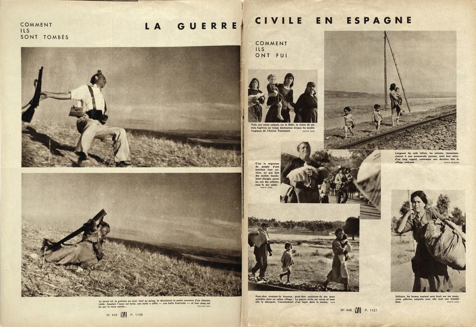 A VU 1936. szeptember 23-i számának oldala a milicista első közlésével, Bánkuti András gyűjteménye