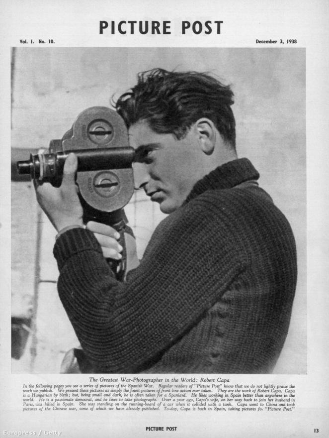 A Picture Post december 3-i számában, a lap a spanyol polgárháborús képeit közölte a vezető cikkéhez, az első szám két hónappal ezelőtt, október elsején jelent meg. A képet Gerda Taro készítette
