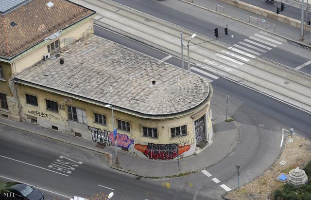 A Rudas Gyógyfürdő egykori palackozóüzemének épülete