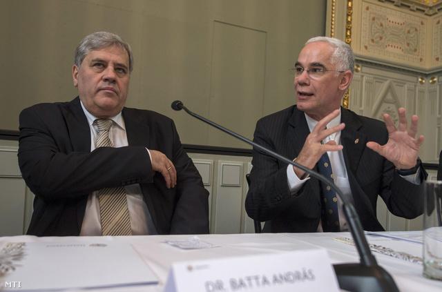Batta András és Balogh Zoltán