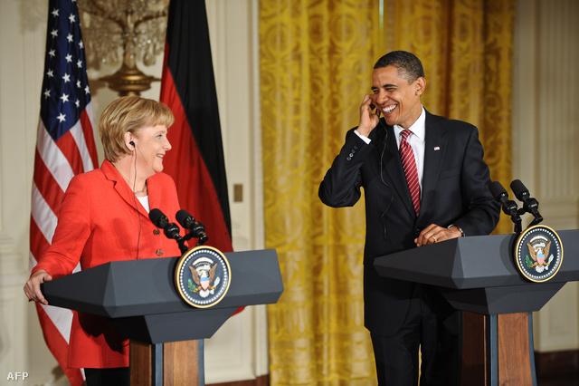 Angela Merkel, Barack Obama