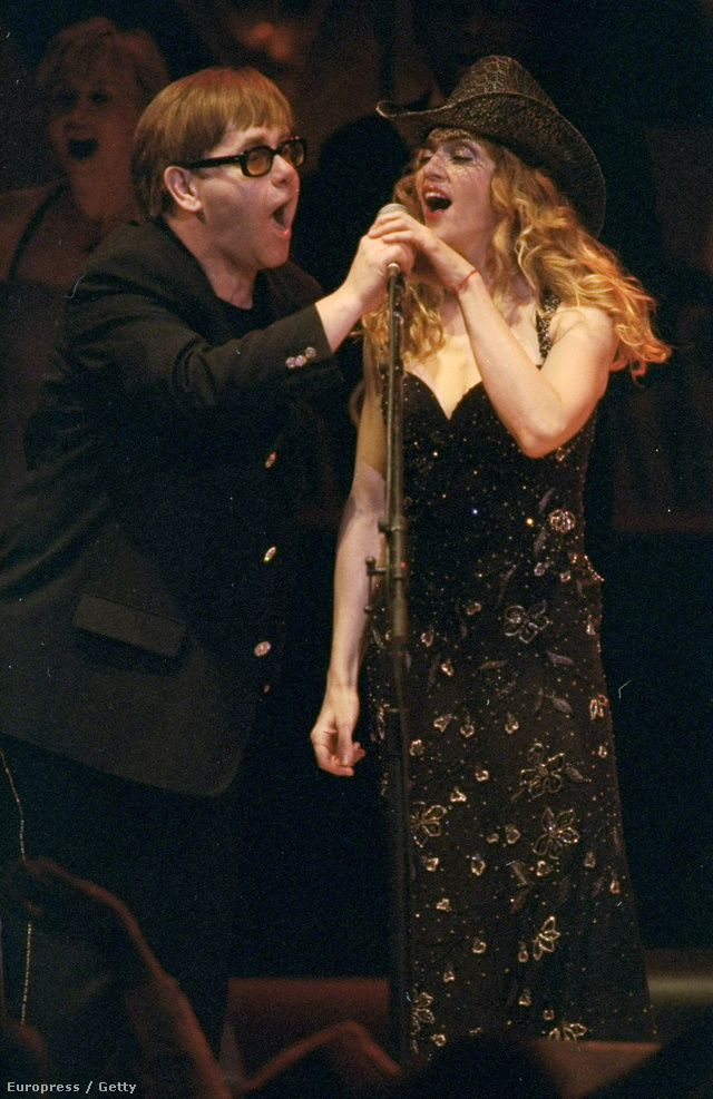 Elton John és Madonna