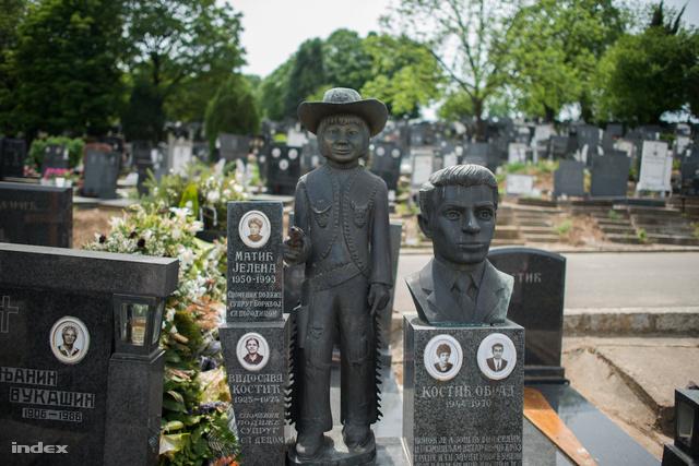 Képünk illusztráció, a belgrádi temetőben készült