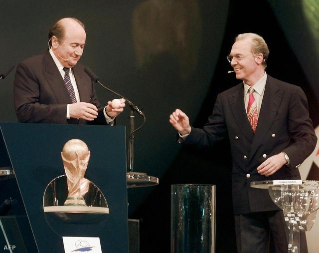 Joseph Blatter és Franz Beckenbauer 1997-ben