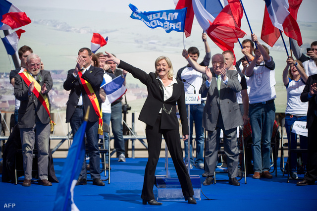Marine Le Pen 2012-ben