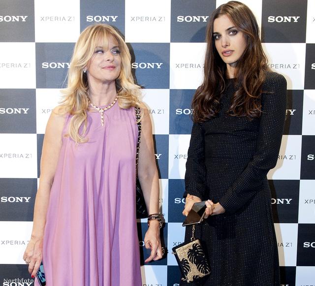Nastassja Kinski lányával jelent meg egy sajtóeseményen.