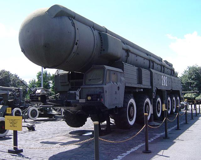 Szovjet SS-20 rakéta