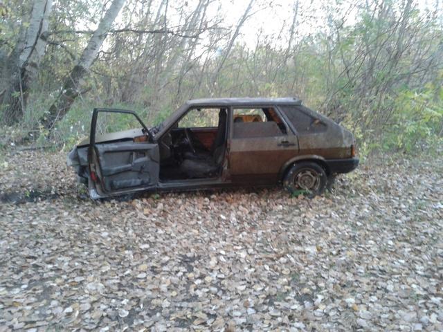 A holtágba lökött Samara, miután kihúzták a vízből
