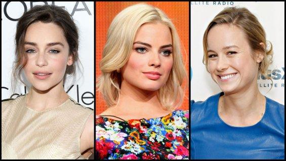 Emilia Clarke, Margot Robbie és Brie Larson is esélyes