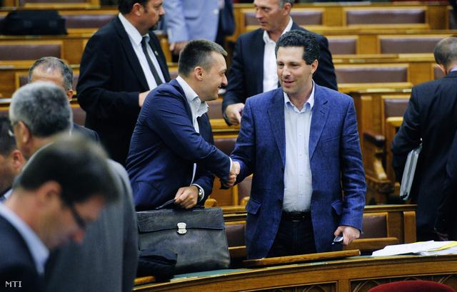 Rogán Antal és Schiffer András