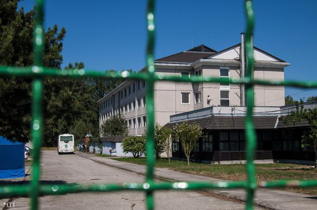 Menekülttábor Vámosszabadiban